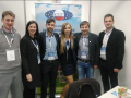 Jannes Maes – ES jaunujų ukininkų tarybos CEJA viceprezidentas, Slovėnijos jaunųjų ūkininkų sajungos atstovas Miloch ir Lietuvos jaunieji ūkininkai