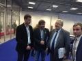 Jaunųjų ūkininkų atstovai  su ES parlamentaru ir CEJA viceprezidentu