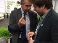 Marius su Lenkijos Žemės ūkio ministerijos atstovu